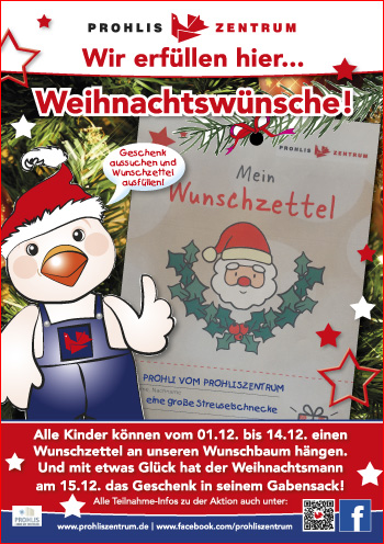 Weihnachtswünsche Für Kinder.Prohliszentrum Wir Erfüllen Hier Weihnachtswünsche