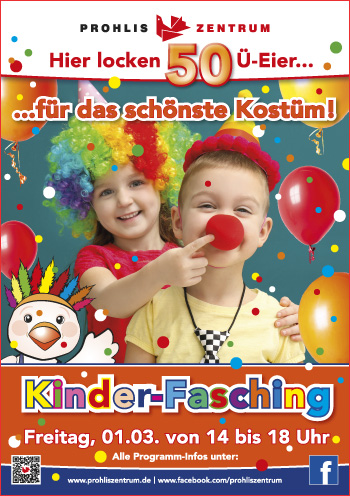 Prohliszentrum Kinder Fasching Am 1 3 2019